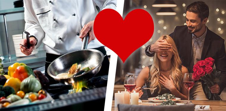 Il Private Chef il miglior afrodisiaco per il vostro San Valentino